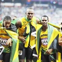 Jamaikan 4 x 100 m:n viestijoukkue MM-kisoissa 2013