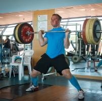 Joni Syrjälä nostaa 140kg