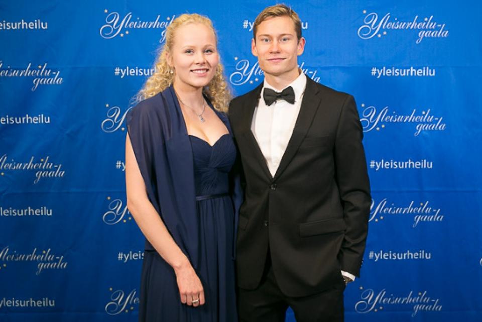 Oskari Mörö ja Laura Kiuru