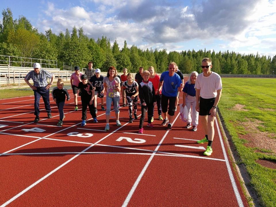 Ikaalisten Urheilijat Kunniakierros 2017