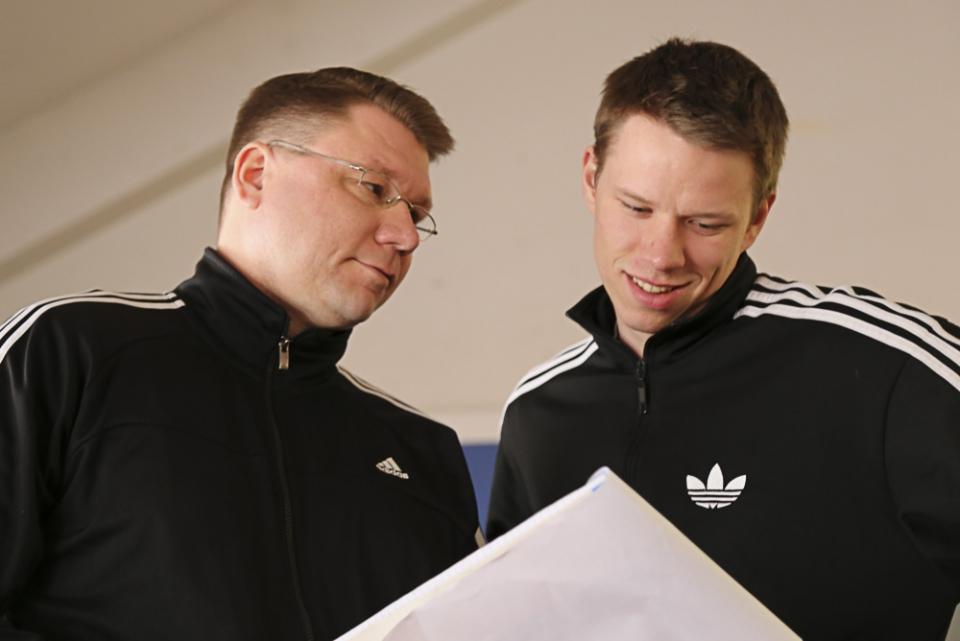 Harri Laiho ja Roni Ollikainen