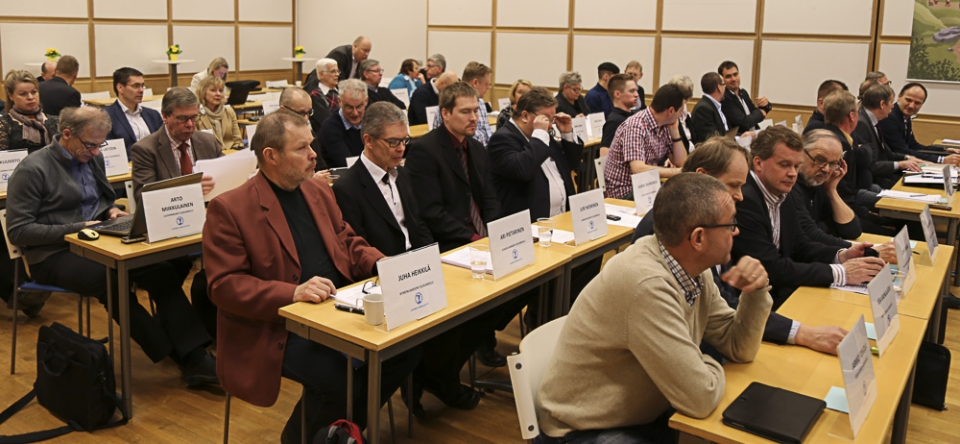 Liittovaltuuston kevätkokous 2015 Helsingissä