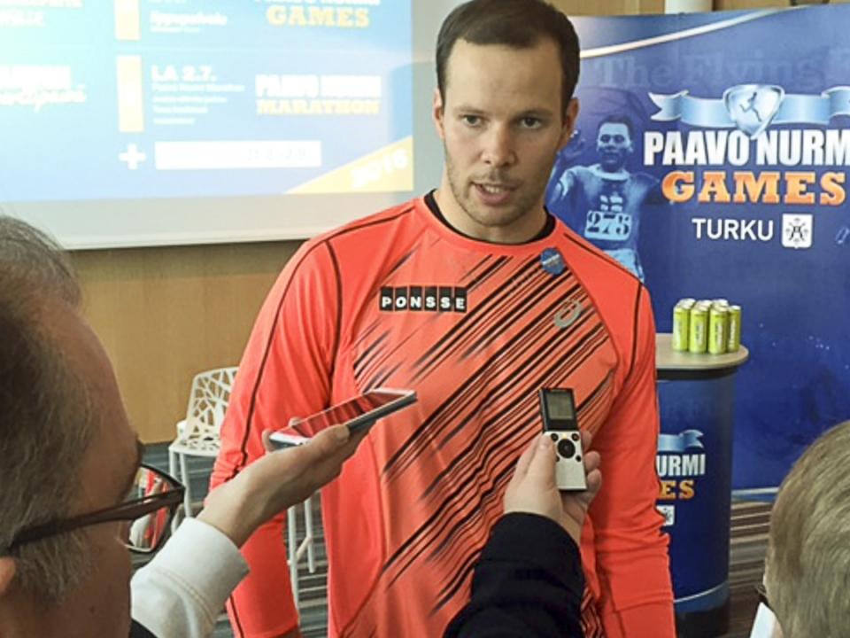 Tero Pitkämäki Paavo Nurmi Games