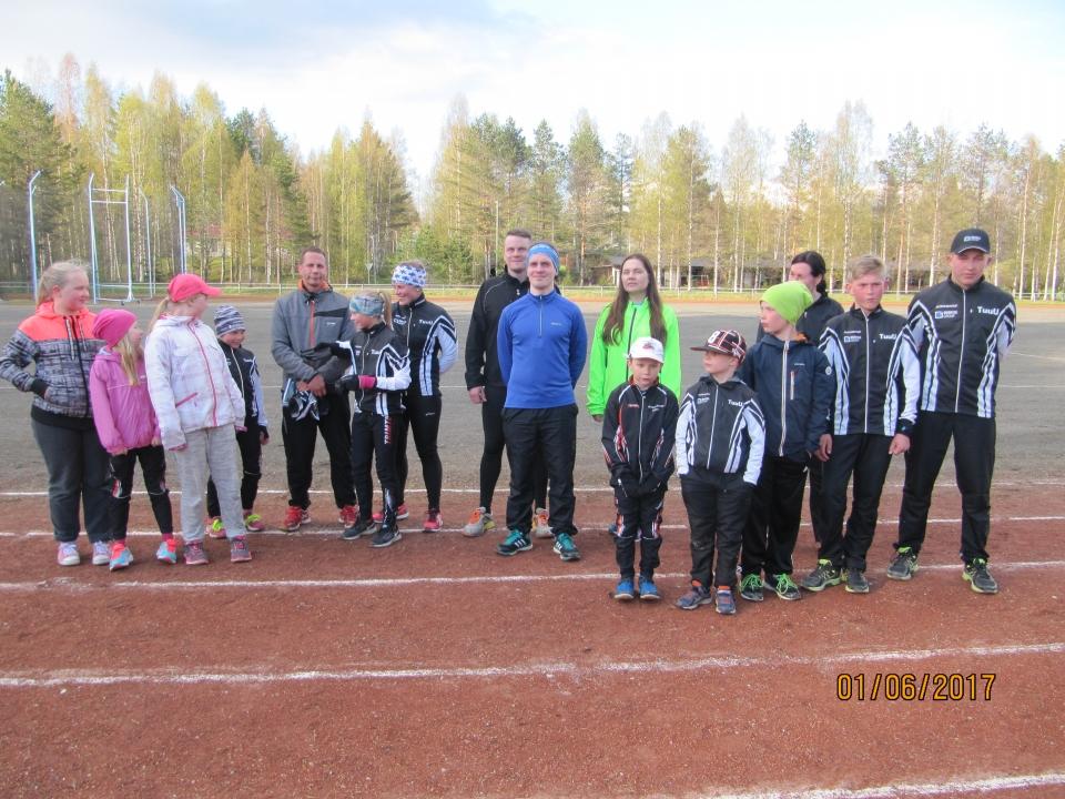Tuupovaaran Urheilijat Kunniakierros 2017