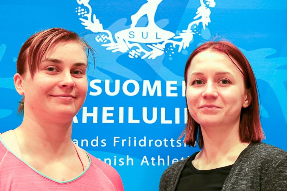 Sanni Utriainen ja Reetta Hurske