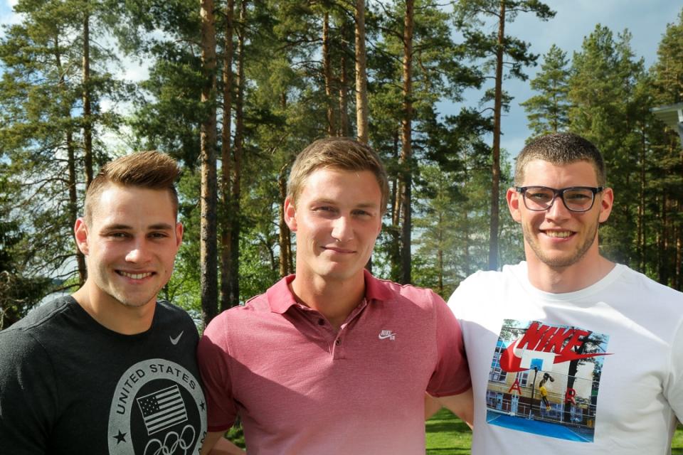 Johannes Vetter, Thomas Röhler, Andreas Hofmann