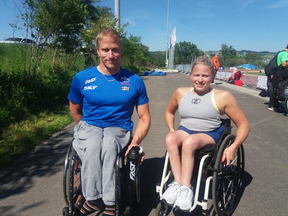 Leo-Pekka Tähti ja Amanda Kotaja