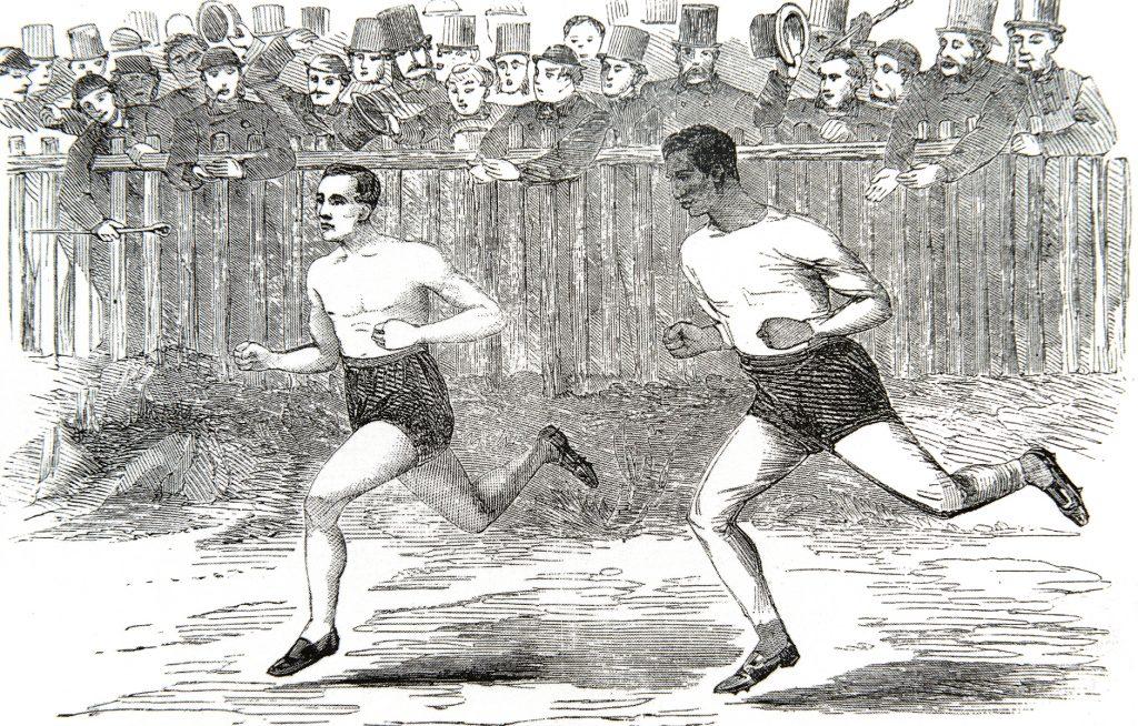 Millaista oli yleisurheilu 1850-1860-luvuilla?