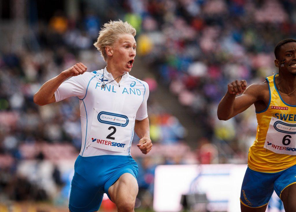 Aikuisten ja nuorten joukkueet Ruotsi-otteluun
