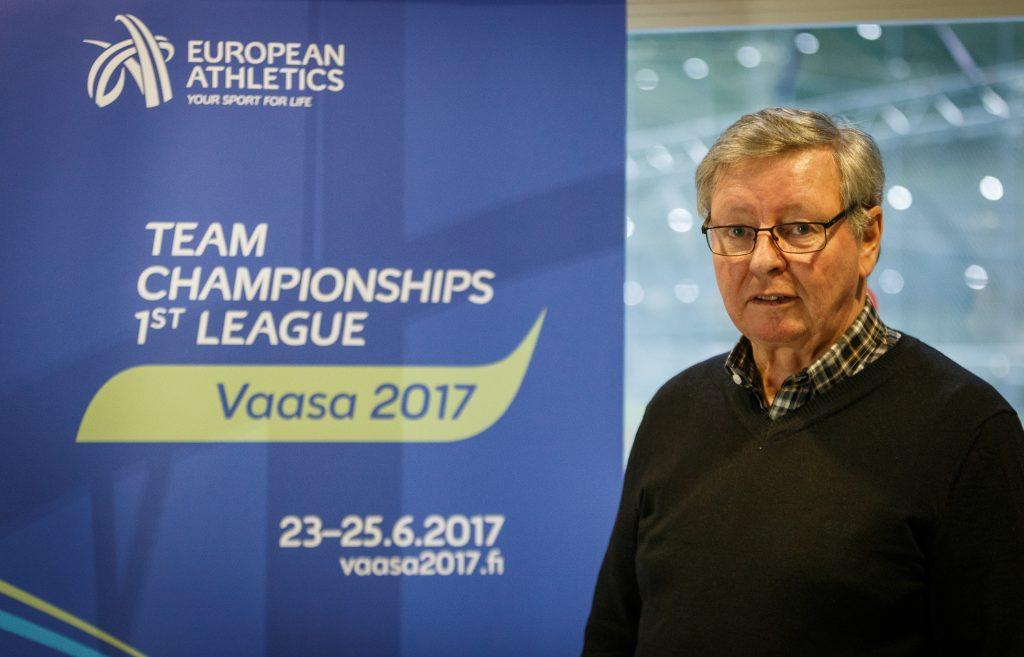 Vaasan EM-joukkuekilpailut nettisivut auki