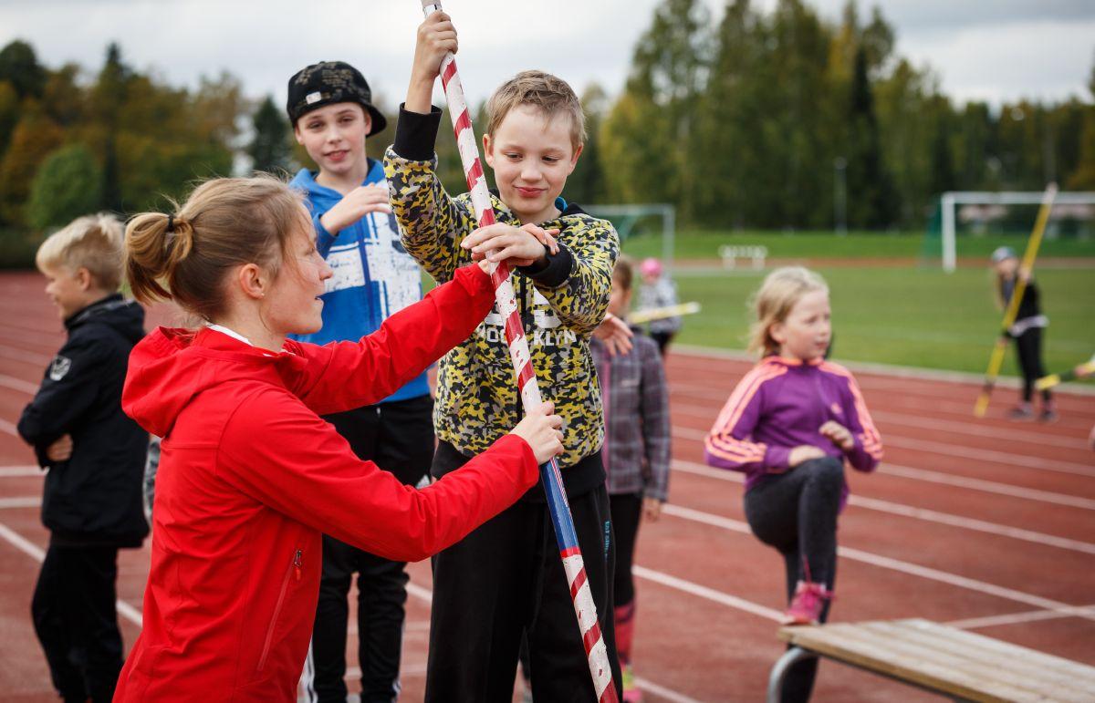 Nestlé for Healthier Kids -kerhot tuovat yleisurheilua kouluihin