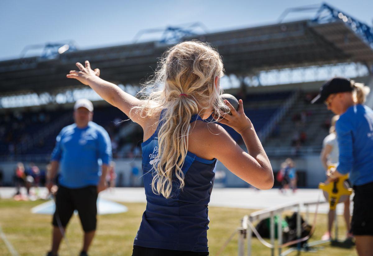 Nuoren yleisurheilijan ravitsemus