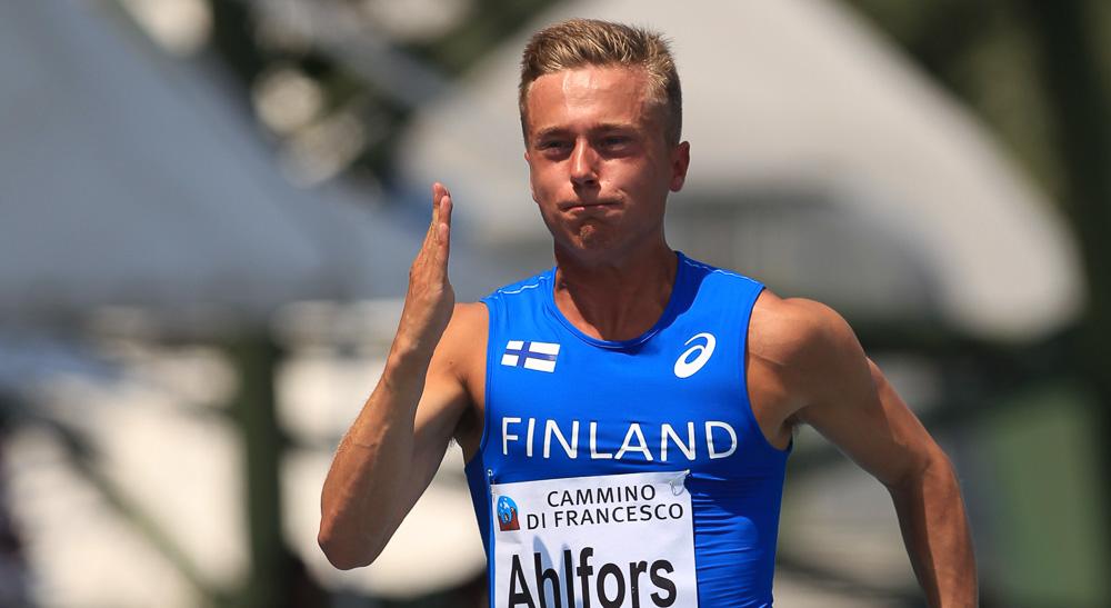 Ahlfors pinkoi ennätyksensä Weinheimissa
