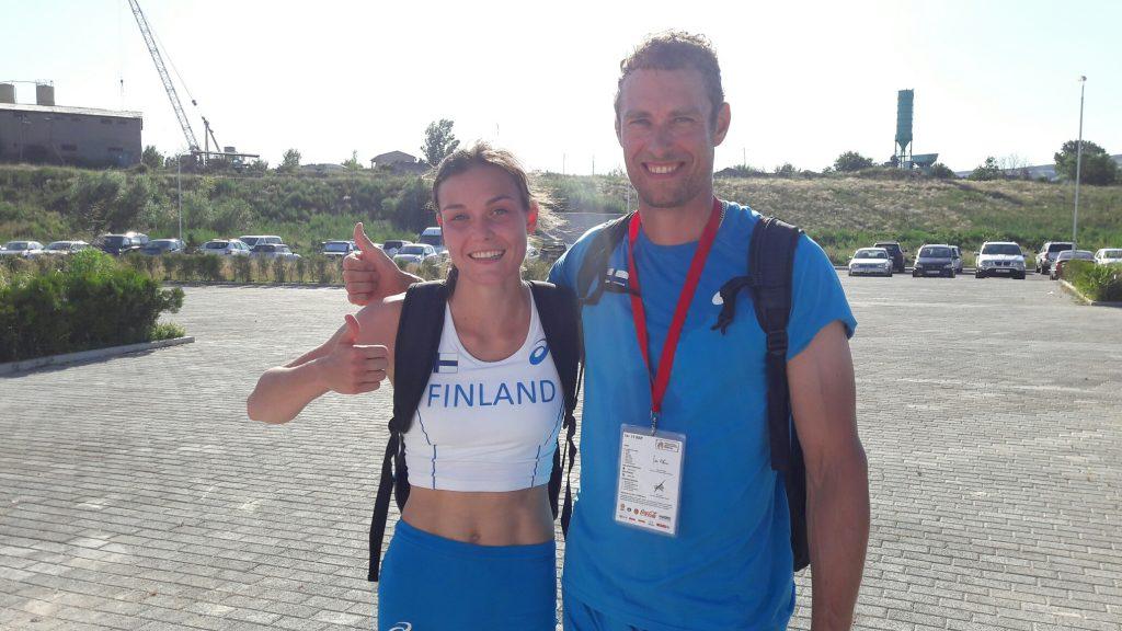 Strömbergille EM-kultaa ja Väänäselle -pronssia Tbilisissä