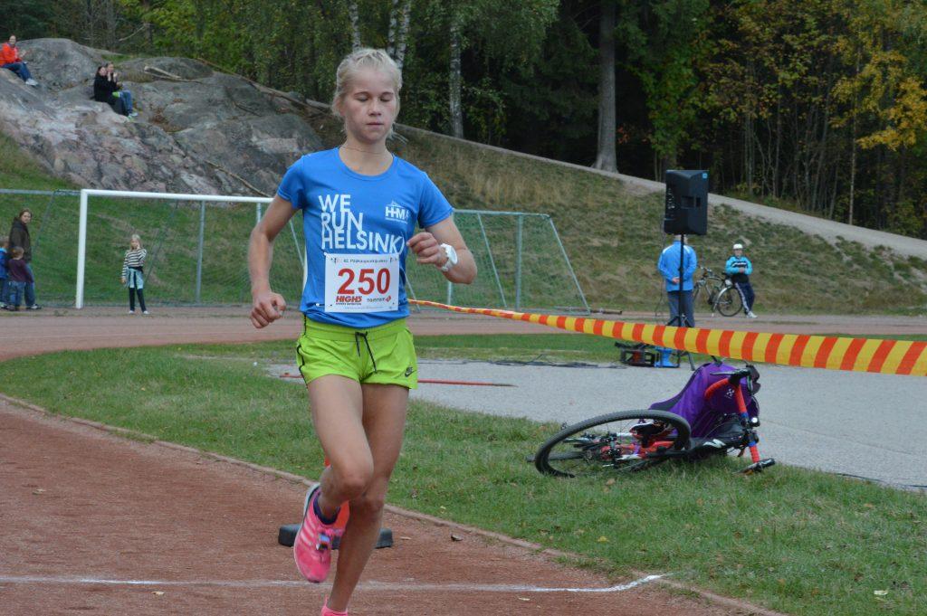 Alisa Vainio voitti Pääkaupunkijuoksussa