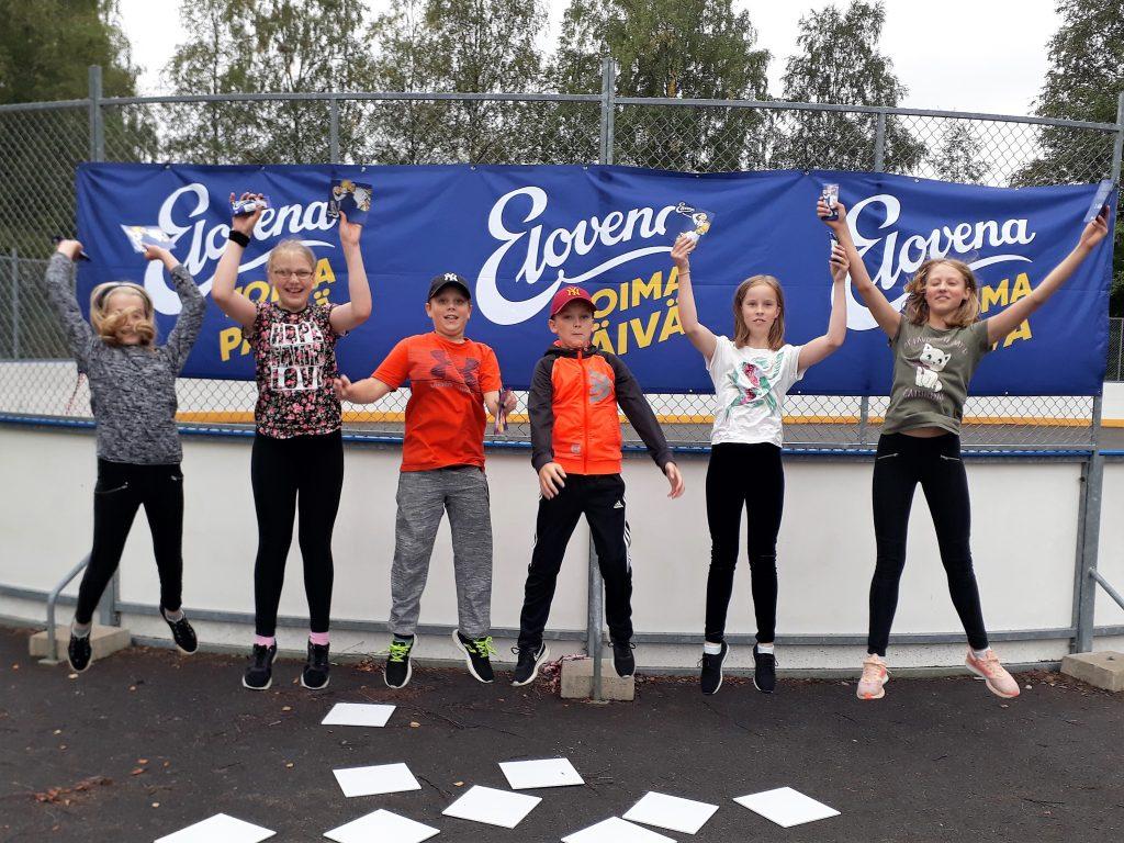 Elovena Voimapäivä liikutti Harvialan koulun oppilaita