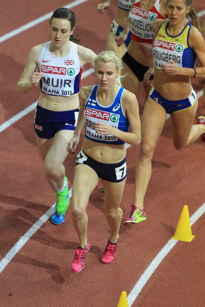 Sandra Eriksson juoksi Ruotsissa kauden parhaansa
