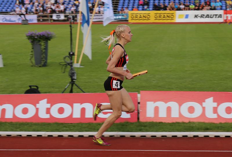 Eriksson Kalevan kisoihin tekemään hyvää juoksua