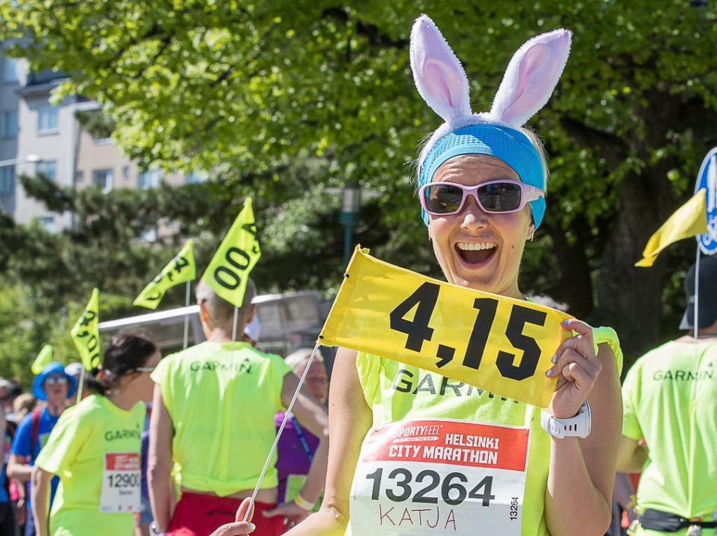 Garmin Helsinki City Marathonin nimikkokumppaniksi
