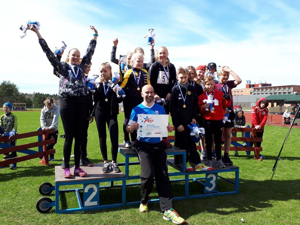 Hamulan koulu voitti Pohjois-Savon Hese-piirikisan!