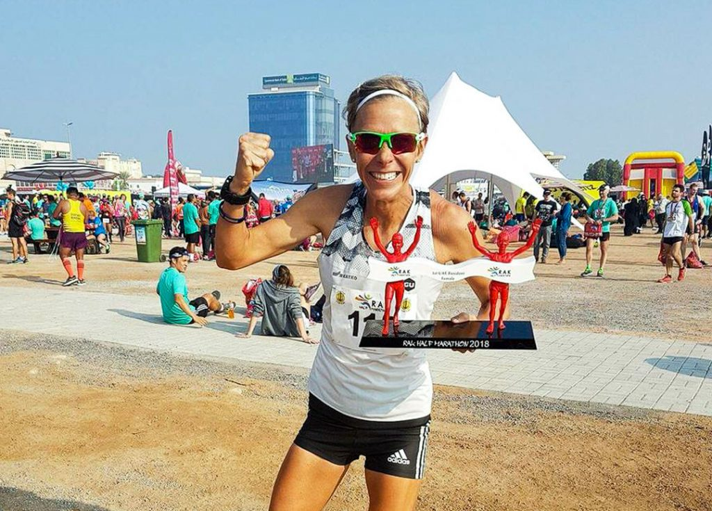Hyryläinen juoksi puolimaratonilla ennätyksensä Arabiemiraateissa