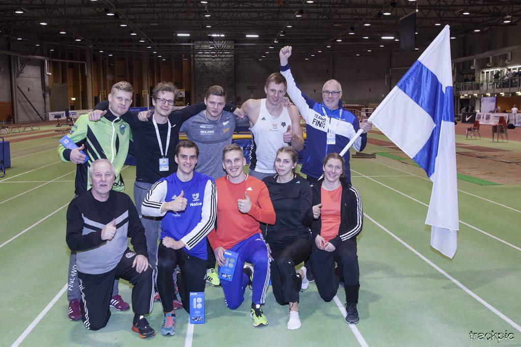 Juuso Hassi löi Elmo Savolan – Amanda Liljendal otteli ennätyksensä
