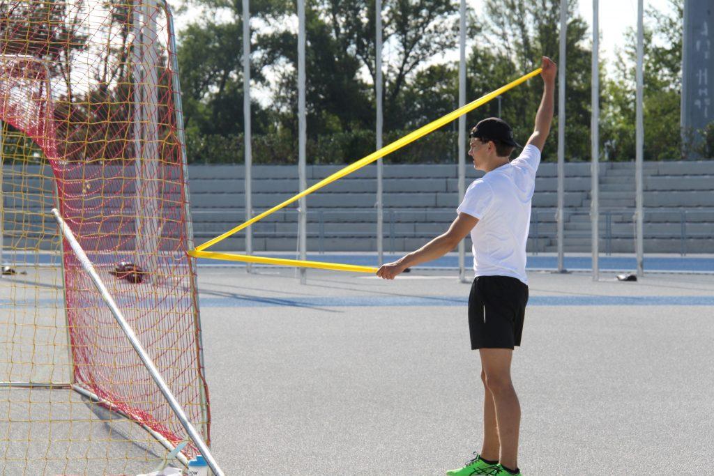 Yleisurheilun EYOF-joukkue haki kisavireen Slovakiasta