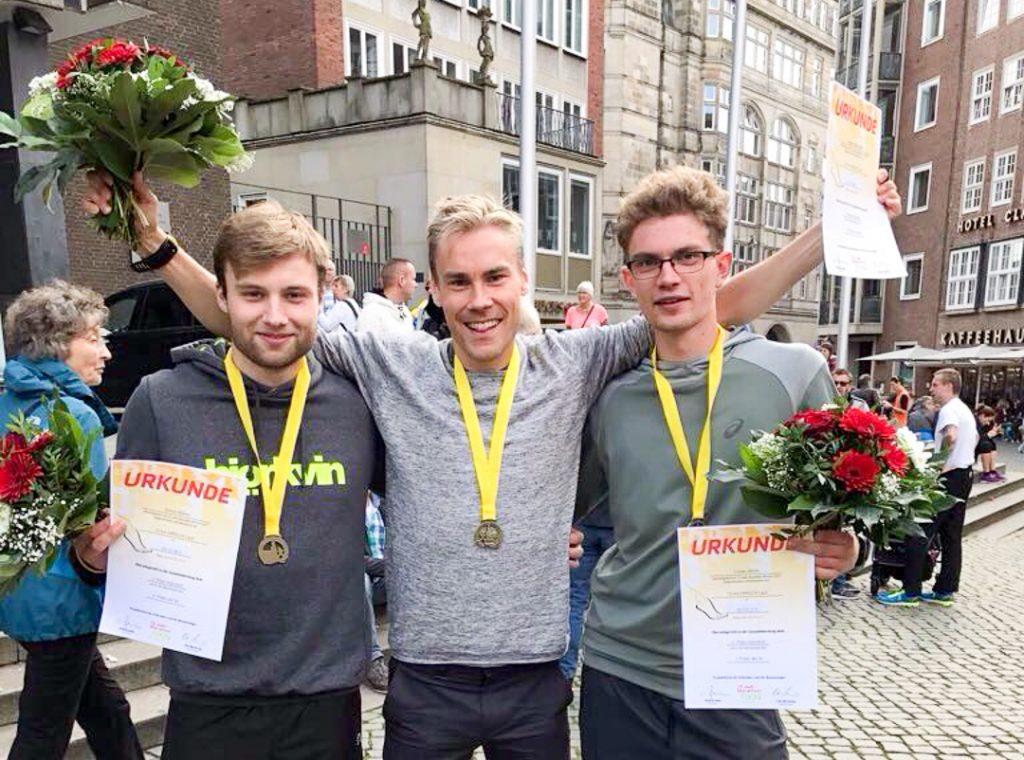 Järvenpää terästi maratontreeniä katukisan voitolla Bremenissä