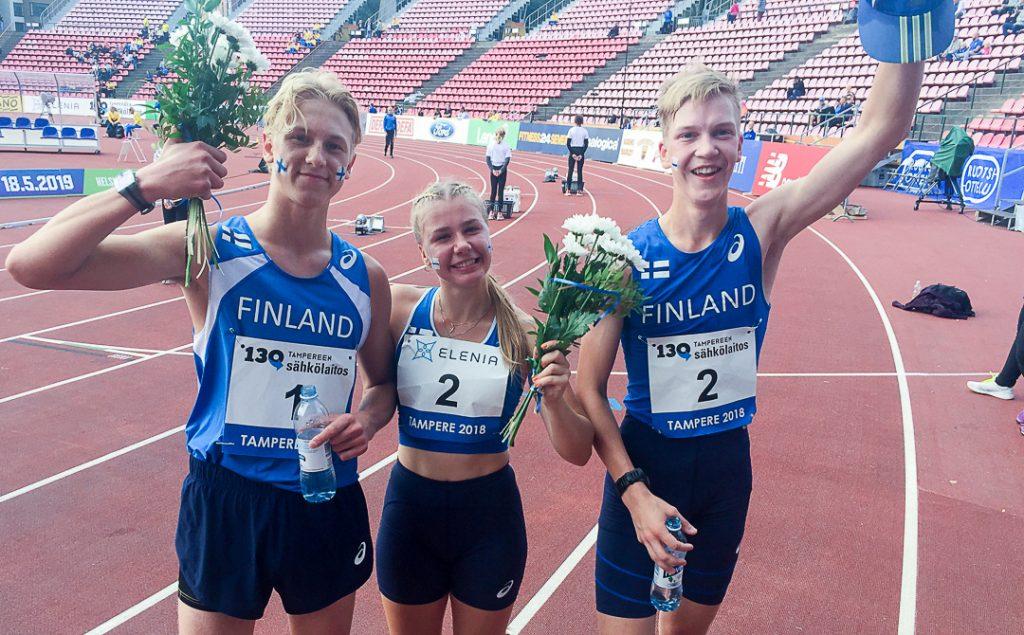 Nuorten Ruotsi-ottelu käynnissä Ratinassa