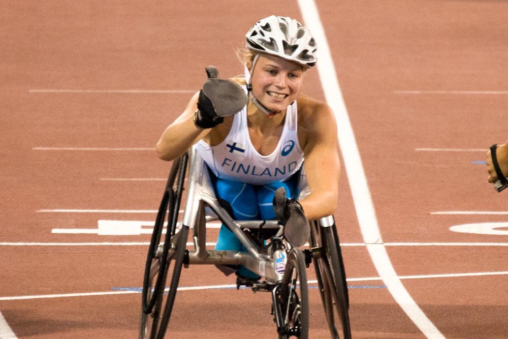 Amanda Kotajan paralympiaunelma elää