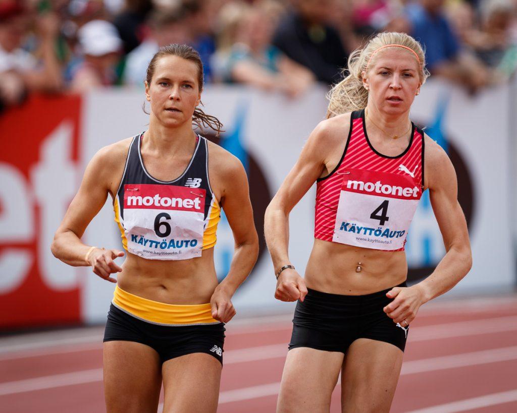 Kuivisto ja Paunonen juoksivat 800 metrillä ennätyksensä Antwerpenissä