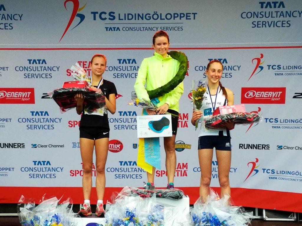 Kuljukka toinen ja Laukkanen kolmas Lidingön nuorten kisoissa
