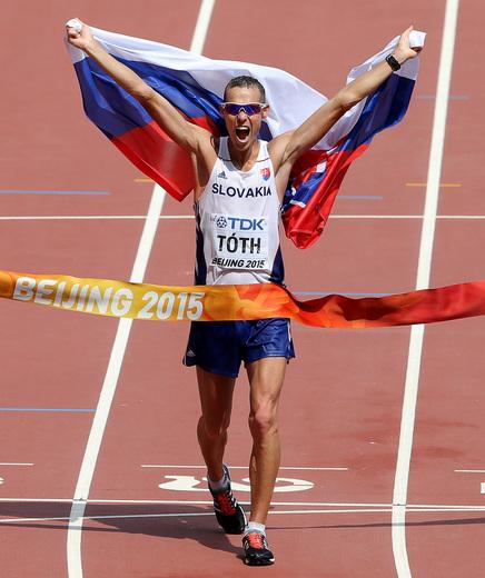 Tóth voitti 50 km - Partanen 18:s - Jamaika pikaviestien kärkiaikoihin