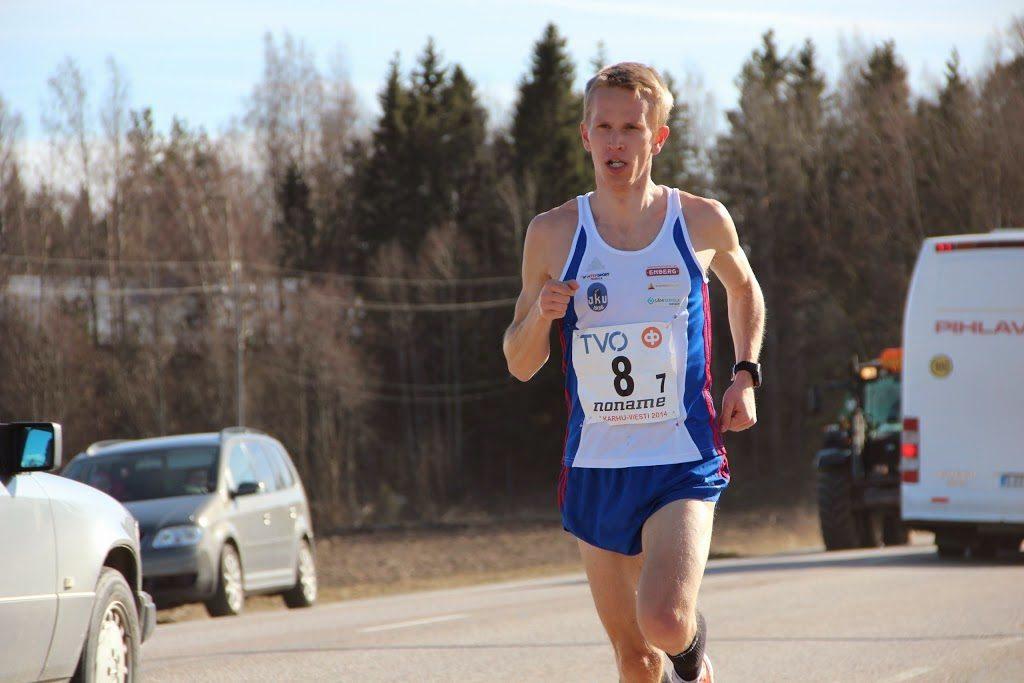 Nieminen ja Markovaara maratonin Suomen mestarit