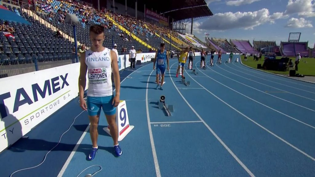 Oskari Lehtonen rikkoi 200 metrin EM-rajan
