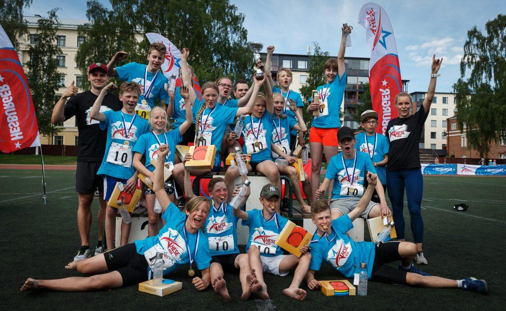 Ounasvaaran koulu Hese-kisan voittoon!