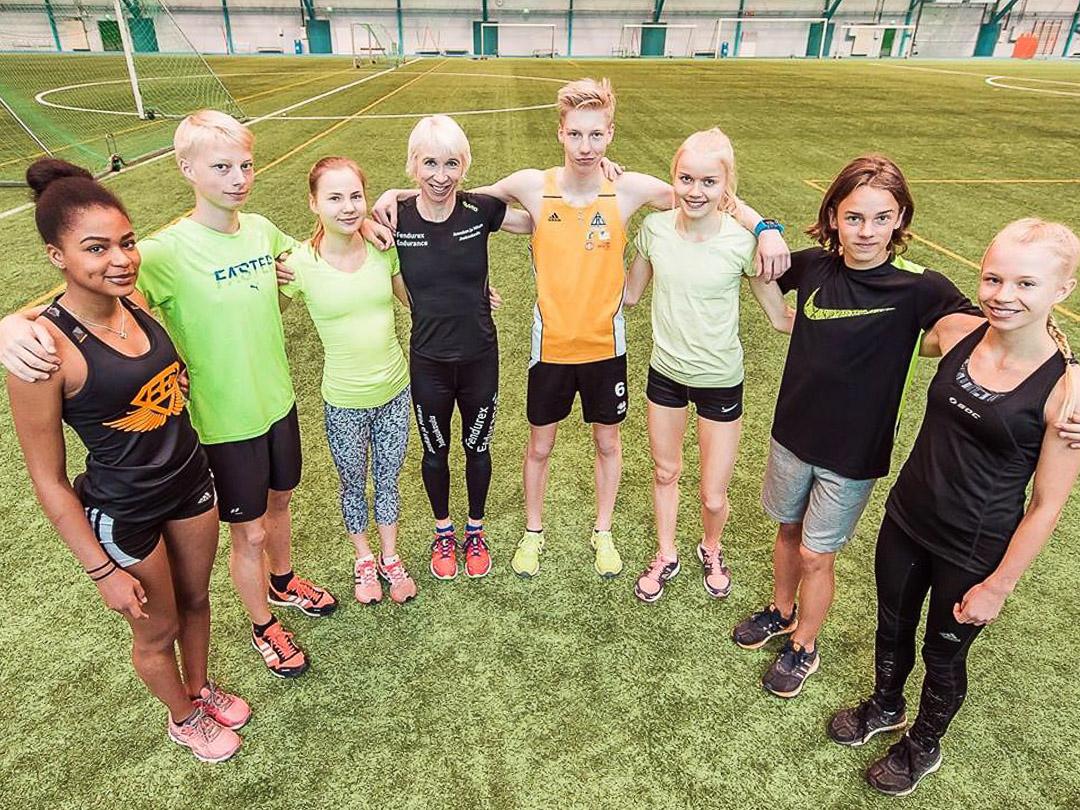 JKU kärjessä Flying Finns -maastofinaaliin