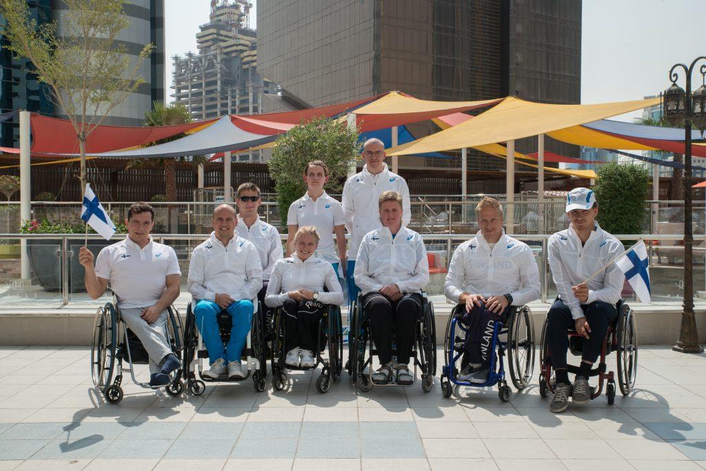 Parayleisurheilun MM-joukkue ylitti tavoitteensa Dohassa