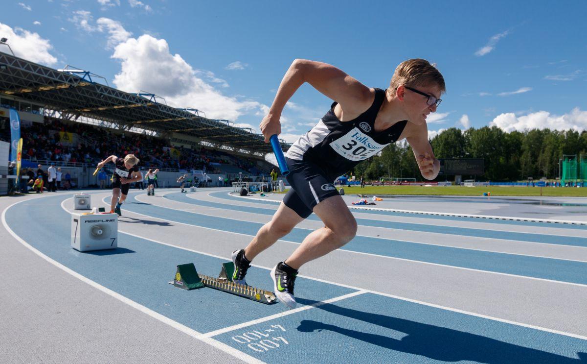 Youth Athletics Games palaa Espooseen