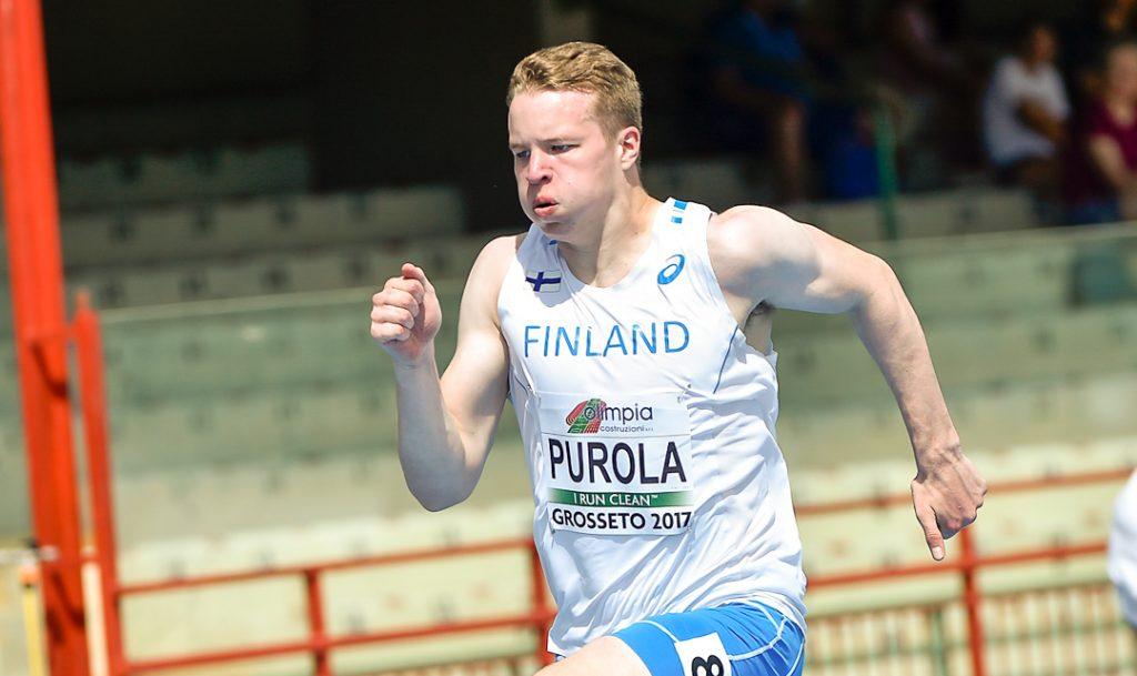 Yleisurheilumaajoukkueet hallimaaotteluun Uppsalaan