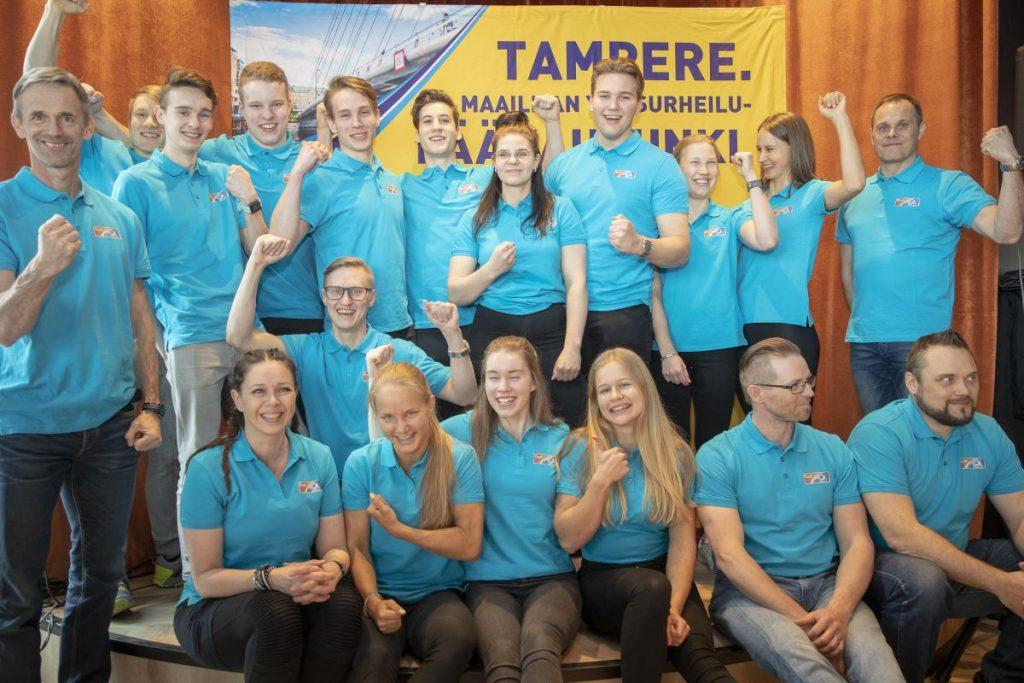 Tampereen MM saa Purolan