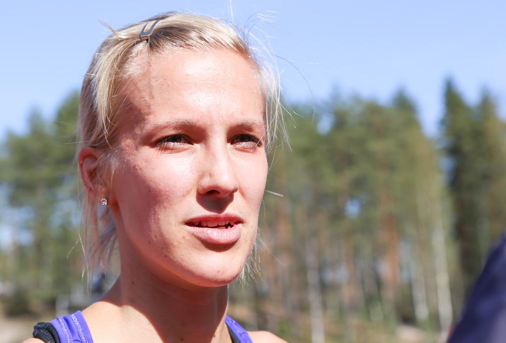 Camilla Richardsson juoksi PM-kultaa