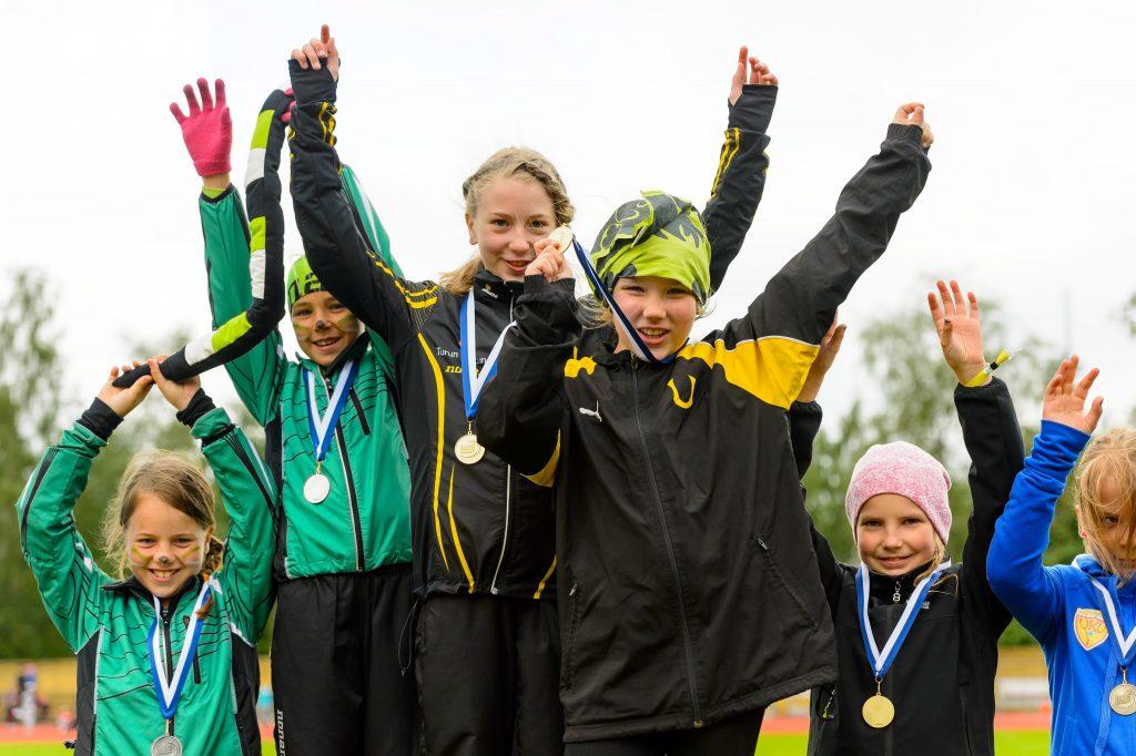 YAG:ssa lähes 1500 nuorta urheilijaa!