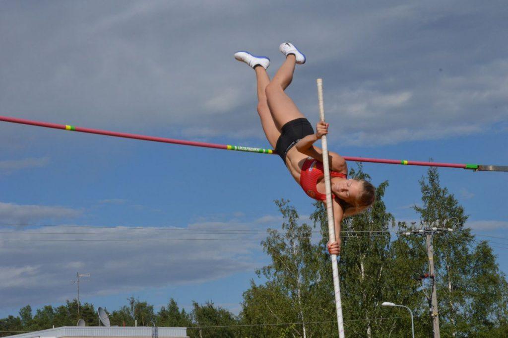 Saga Andersson ylitti 17-vuotiaiden maailman kärkituloksen