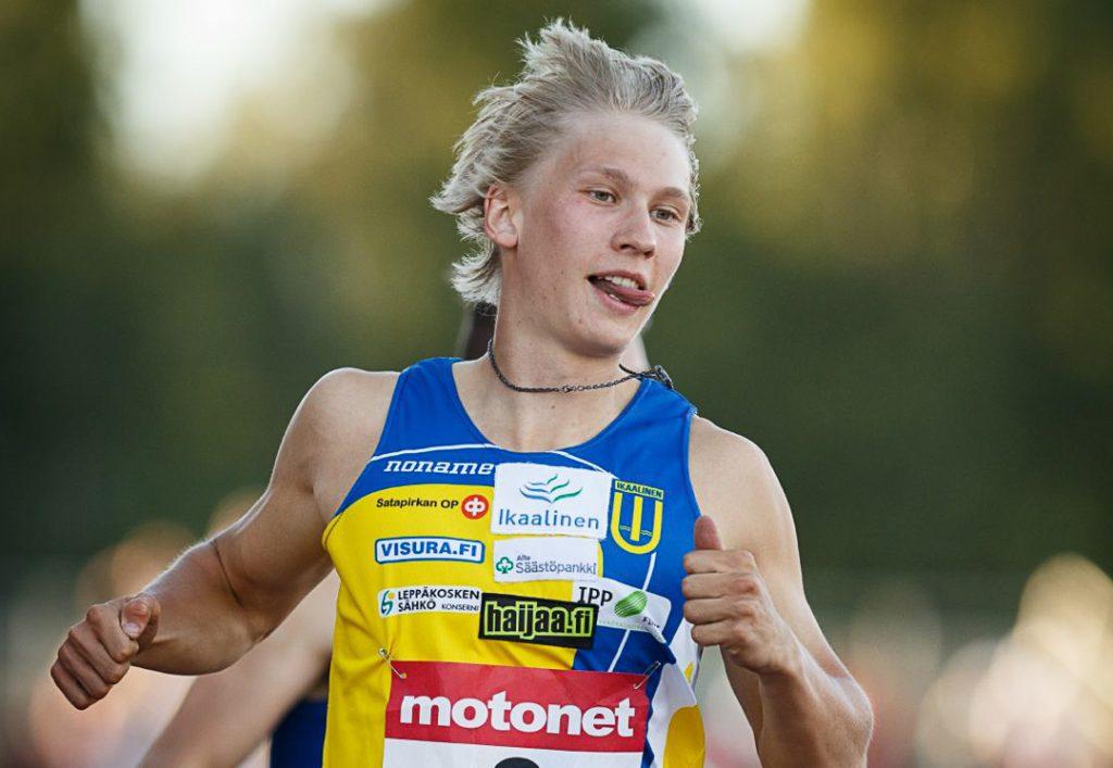 Samuelssonin vahvaan juoksuun ei saatu aikaa
