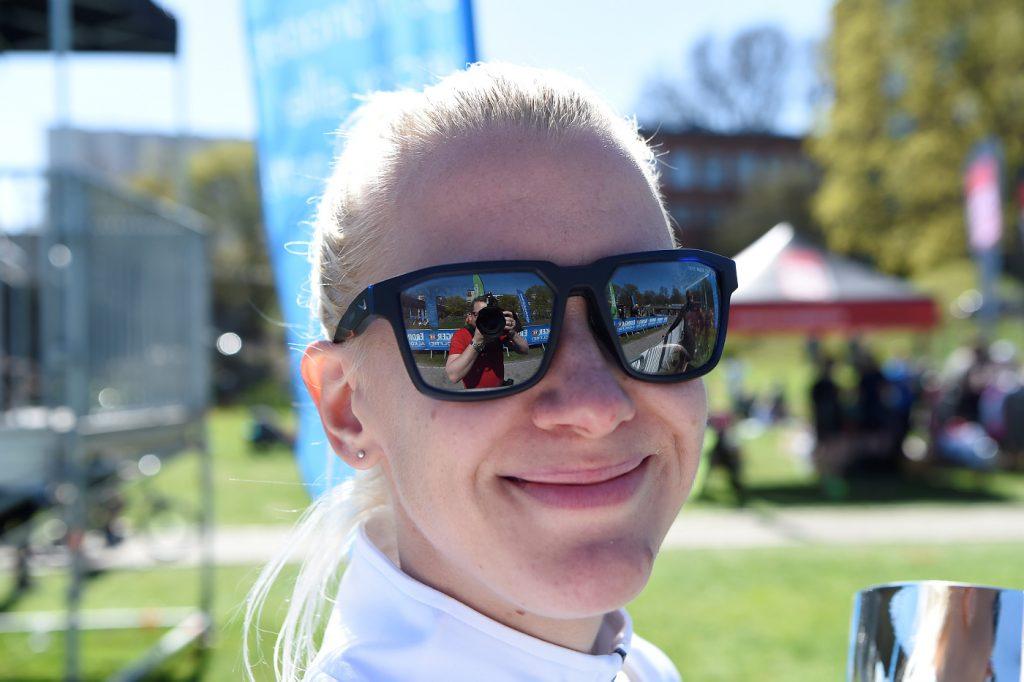 Sandra Eriksson juoksi 800 metrin ennätyksensä