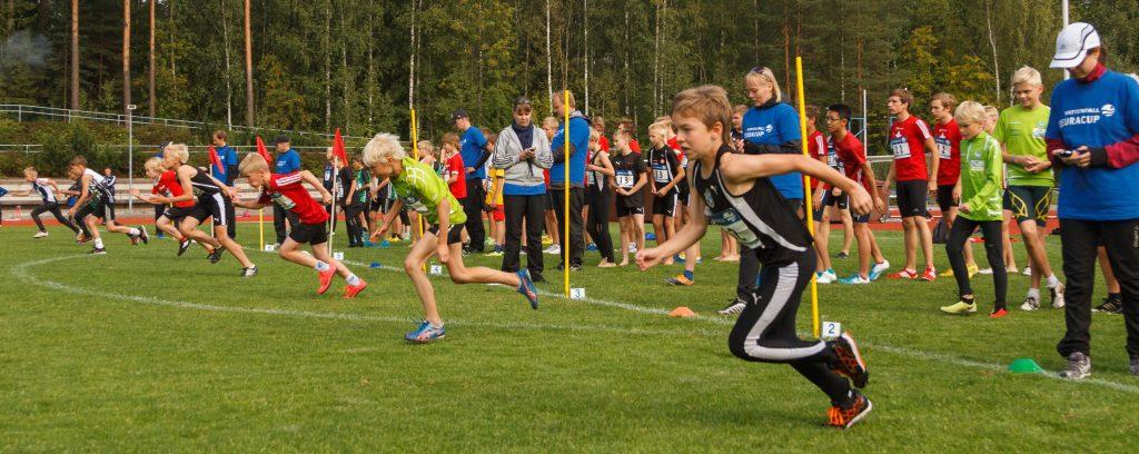 Lasten yleisurheilusääntöjä päivitettiin