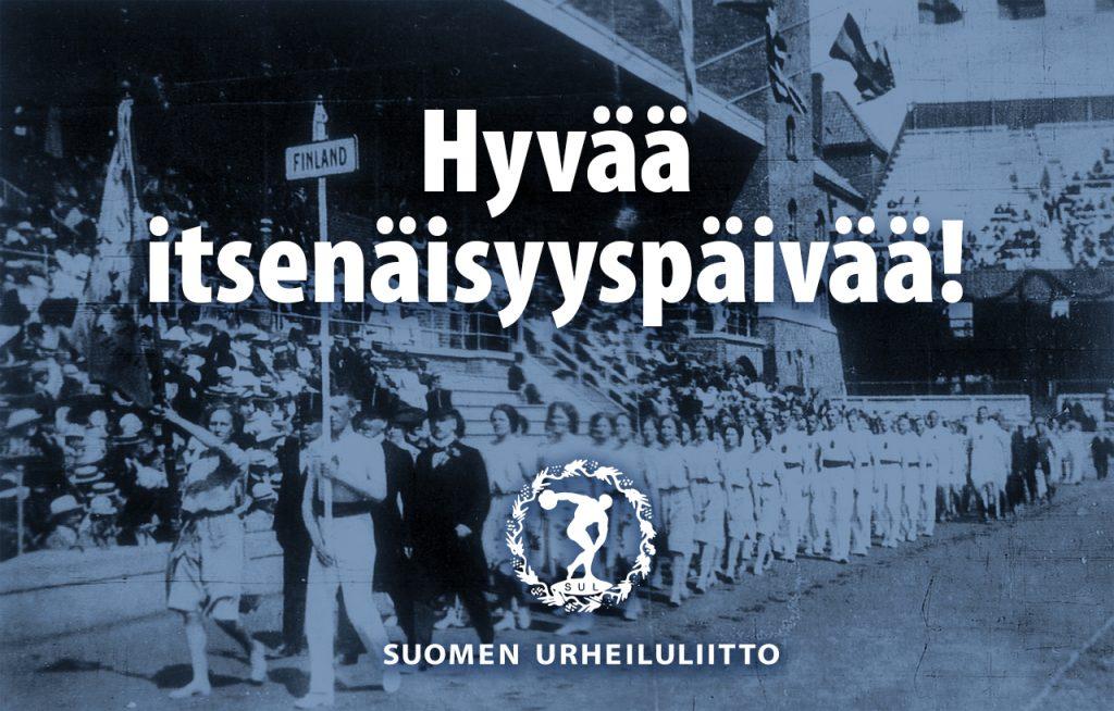 Urheilu on erottamaton osa Suomen satavuotiasta identiteettiä