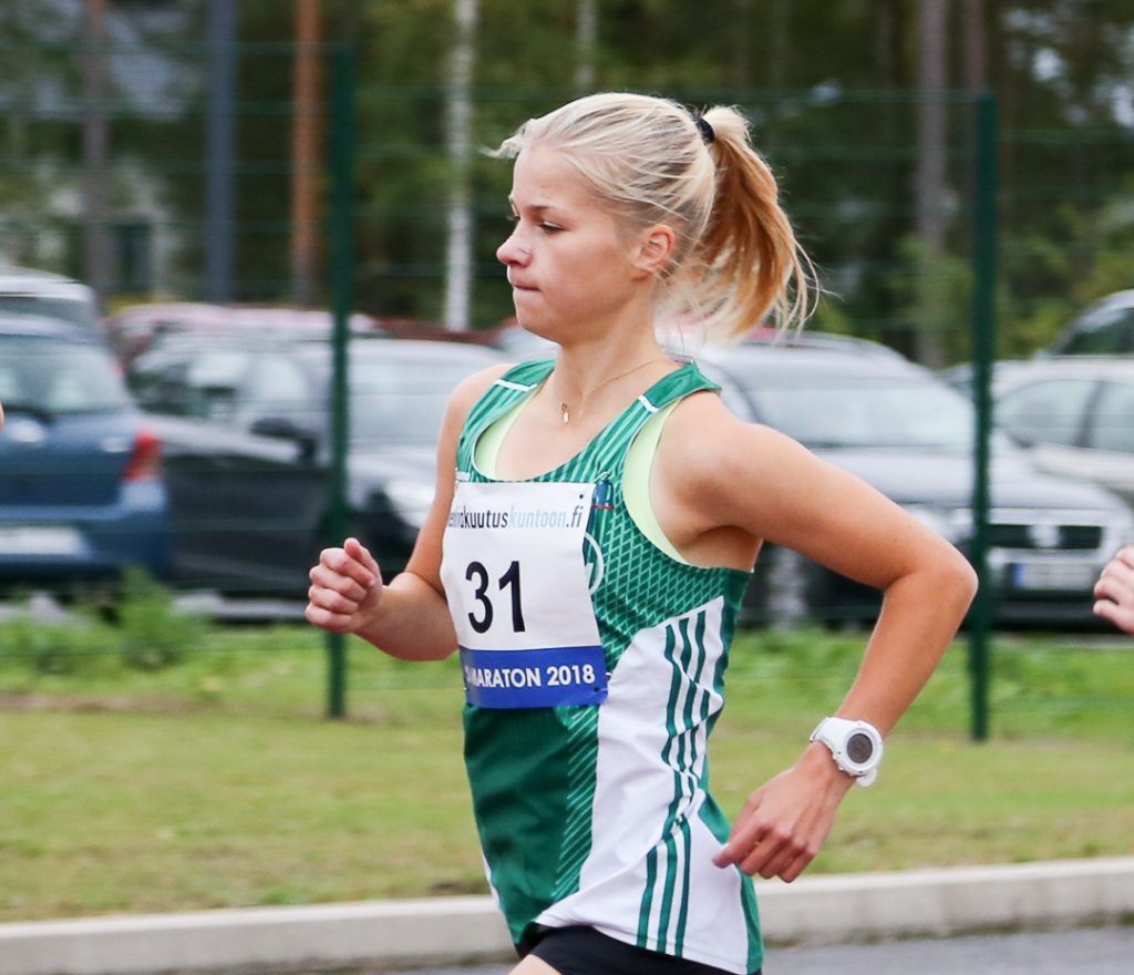 Alisa Vainio löi miehetkin melkein minuutin erolla