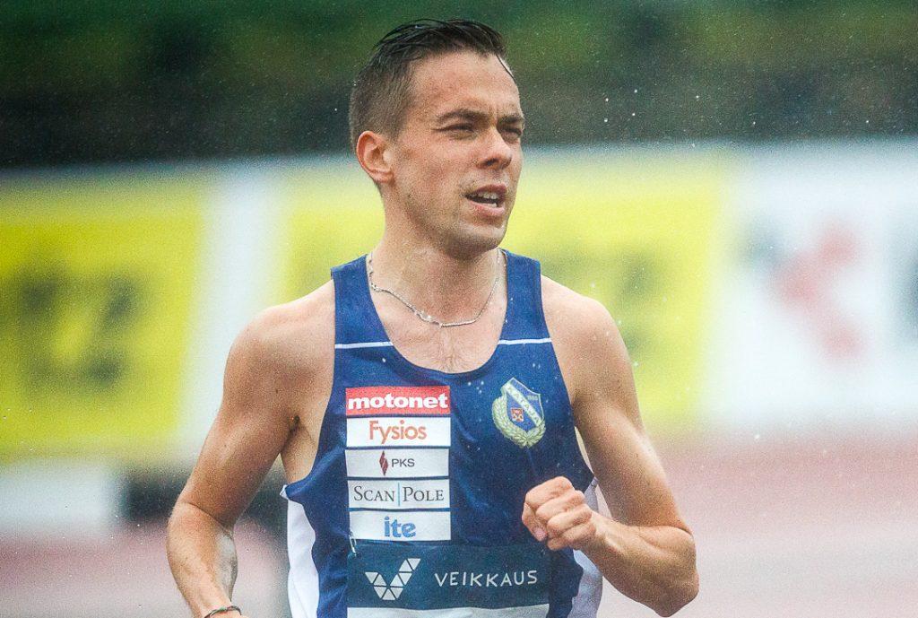 Vattulainen ennätysvauhdissa 5000 metrillä Loughboroughissa